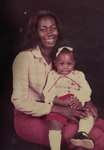 Gloria Walton and mother
