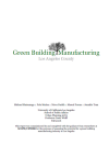 Green Building Manufacturing in Los Angeles County
