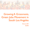 Growing A Grassroots, Green Jobs Movement in South Los Angeles