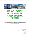 Job Implications in Los Angeles' Green Building Sector