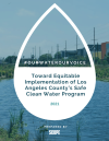 #OurWaterOurVoice: Toward Equitable Implementation of Los Angeles County's Safe Clean Water Program